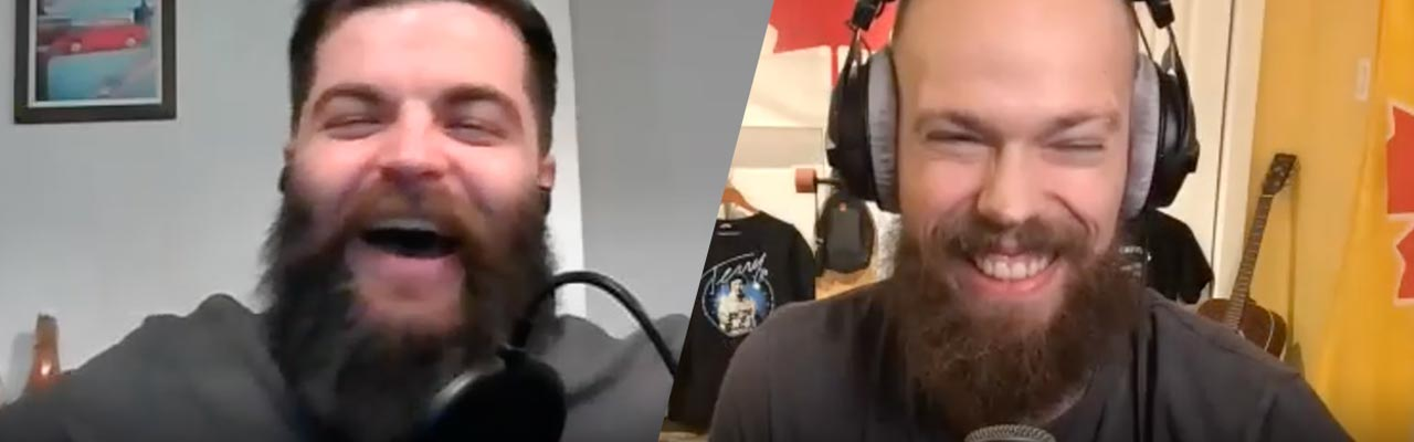 YouTube chef Trystan Petrash on thamichaelated show Canadian podcast